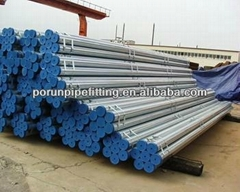 ASTM A 53 ERW Hot Dipped Ga  anized Steel Pipe