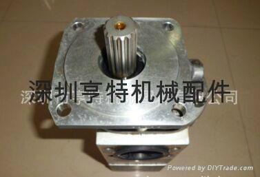 大连叉车齿轮泵KYB液压泵TP20350-250C 4