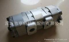 原裝進口島津SHIMADZU 齒輪泵ST-272727L858用於三菱平地機MG330