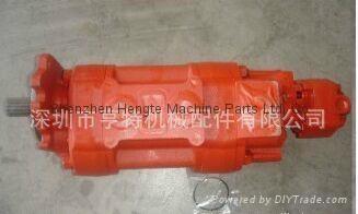 TCM裝載機85Z 三聯泵KFP5145-63-KP1013CYRF 2