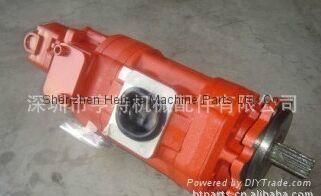 TCM裝載機85Z 三聯泵KFP5145-63-KP1013CYRF 1