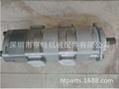 岛津液压泵ST-252527L825 旋挖钻机齿轮泵 SHIMADZU液压泵 叉车齿轮泵利渤海尔 1