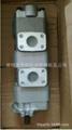 岛津液压泵ST-252527L825 旋挖钻机齿轮泵 SHIMADZU液压泵 叉车齿轮泵利渤海尔 5
