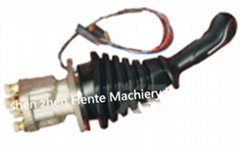 操作手柄现代挖掘机R215-9操纵杆手柄总成挖机操纵手柄