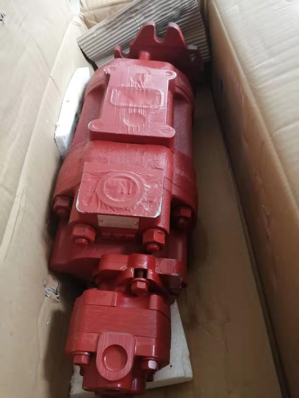 供應日立W170挖掘機KYB齒輪泵KFP5145-63-KP1013CYRF-SP 3