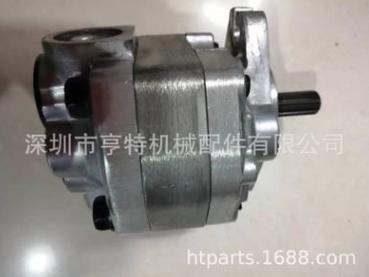 供應TCM裝載機齒輪泵 KYB齒輪泵 KP1013CLFRS 4