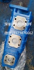 Triple Hydraulic gear  pump 1115133560 for PERMCO DRILLING RIG