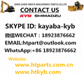 挖掘机,装载机,吊车,液压机,压路机,钻机,船用泵KYB液压泵,齿轮泵 6