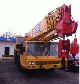 KATO加藤NK550VR 全新驾驶室 55吨吊车 2