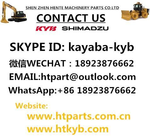 原装进口日本岛津SDB4044E1H1L186 ZW310日立装载机齿轮泵 2