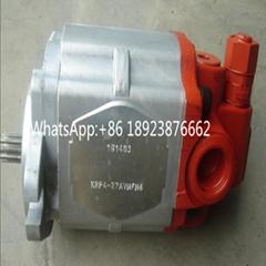 原装进口卡亚巴KYB齿轮泵 KRP4-27AVNFN6 KAYABA