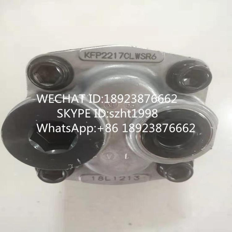 原装KYB齿轮泵 KFP2217CLWSR6 1
