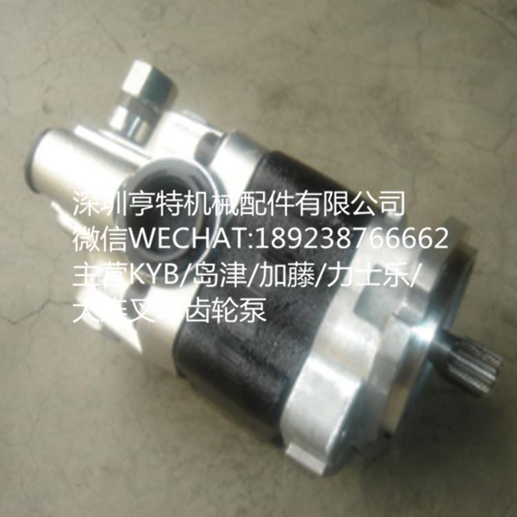 小松GD705A-4平地機 KFP2233CYKRJ9(234-60-6520)KYB齒輪泵 1