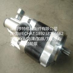 小松GD705A-4平地機 KFP2233CYKRJ9(234-60-6520)KYB齒輪泵