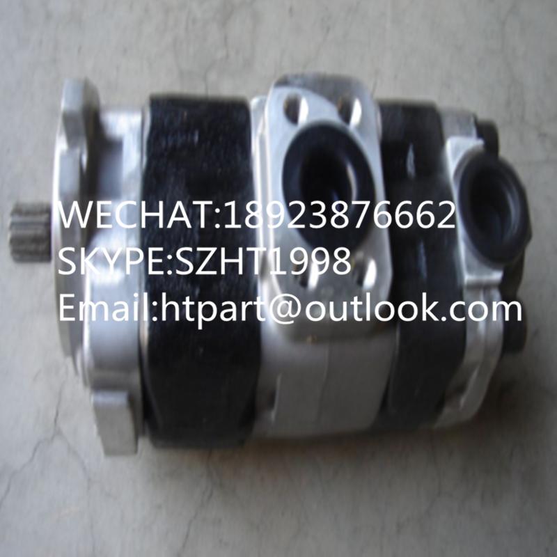 日本原裝KAYABA卡亞巴齒輪泵KFP2233-19AAEL 3