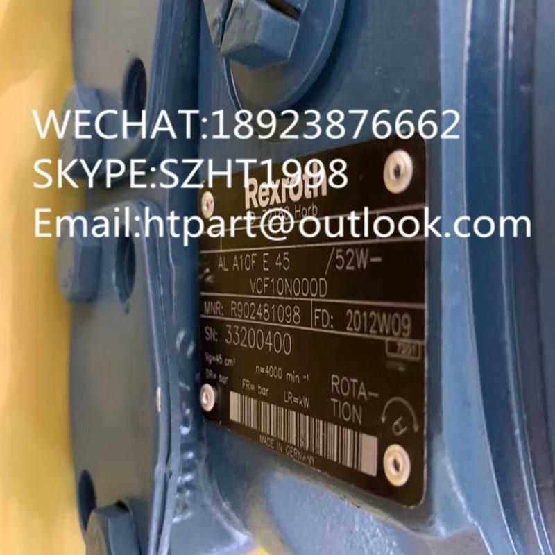 力士乐REXROTH马达 A10FE45/52W-VCF10N000D 2