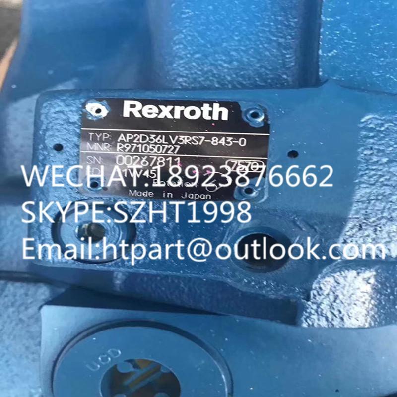 力士乐AP2D36  3RS7-843-0主泵 现代80大宇80G主泵 4