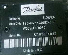 DANFOSS丹佛斯泵T90M075N0ND0C6 水泥搅拌车柱塞泵 2