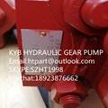 供应TCM装载机L32-3齿轮泵 KFP5150-90-KP1013CYRF-SP 4