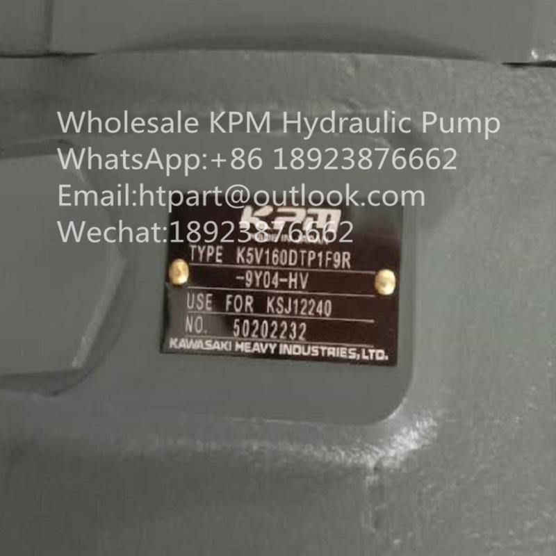 KAWASAKI SUMITOMO SH350-5 HYDRAULIC PUMP K5V160DTP1F9R-9Y04-HV 2