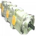 小松 WA380-3 液壓泵705-55-34190 小松裝載機齒輪泵 1