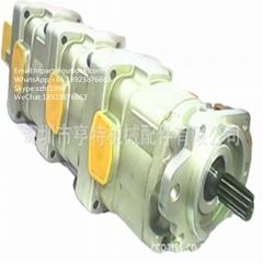 小松 WA380-3 液压泵705-55-34190 小松装载机齿轮泵