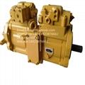全新原裝不二越171-5813液壓泵卡特E318B/E318V2 K5V80DTP1V9R-9NOD 2
