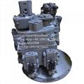 日立挖掘机液压泵ZAX450