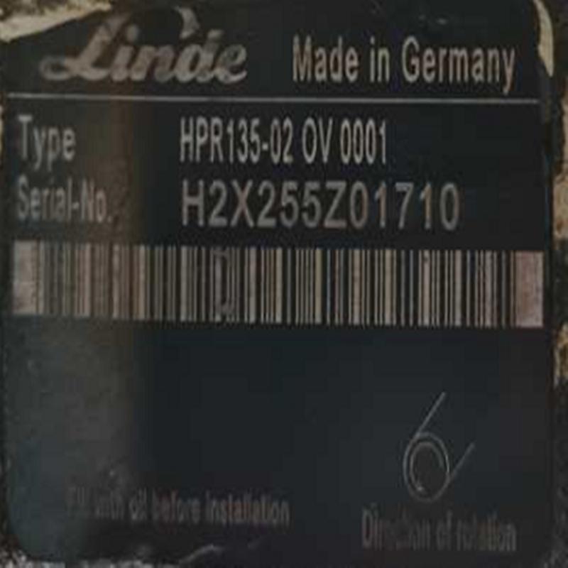 全新原裝林德柱塞泵 HPR135-02OV0001 1