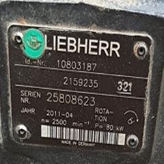 利勃海尔铲车556 马达10803187 液压泵2159235