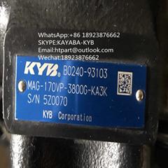 20噸挖機用日本原裝KYB行走馬達MAG-170VP-3800G-KA3K/B0240-93103