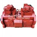 进口川崎液压泵 K5V200用于现代挖掘机R455