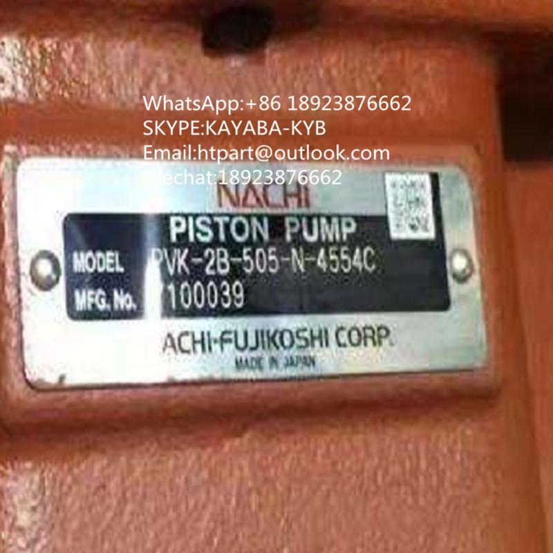 日本不二越NACHI液压泵PVK-2B-505-N-4554C 用于日立55开元55玉柴60 1