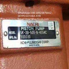 日本不二越NACHI液壓泵PVK-2B-505-N-4554C 用於日立55開元55玉柴60
