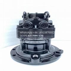 神钢SK200-6E川崎回转马达M5X130CHB  ZX200-3 ZX210-3 ZX240-3 马达