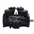 K3V63DTP川崎液压泵 神钢SK135SR液压泵