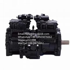 K3V63DTP川崎液壓泵 神鋼挖掘機SK135SR液壓泵
