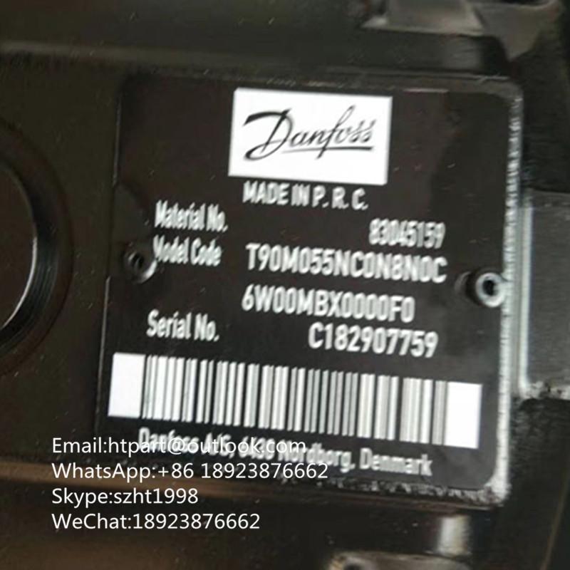 丹佛斯柱塞泵 马达T90M055NC0N8N0C6W00MBX0000F0水泥搅拌车 压路机 1