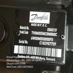 Danfoss Piston Motor T90M055NC0N8N0C6W00MBX0000F0 Road roller