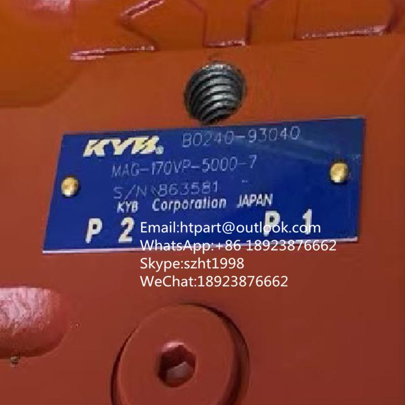 MAG-170VP-5000-7 B0240-93040 日本KYB行走馬達頭 加藤1430 三一SY335/SY365 2