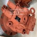 沃尔沃EC290回转马达VOE14550095 川崎回转马达M2X170CHB-15A-25/270