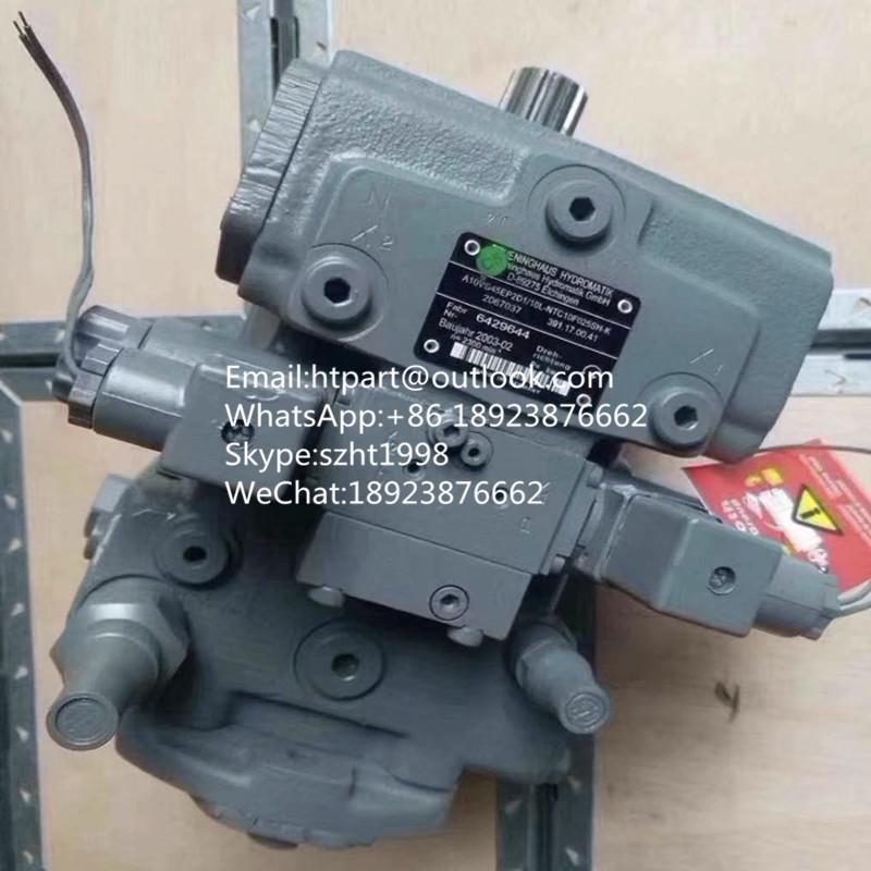 A10VG28HW1/10L-NSC10F013S-S力士樂柱塞泵攤鋪機攪拌車配件雙聯串泵 1