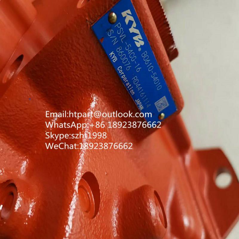 日本全新原裝久保田KX151/KX161液壓泵 PSVL-54CG-16 B0610-54010 1