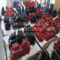 日本进口全新川崎液压泵K5V160DTH1X4R-9N5A-V国机重工GE380H