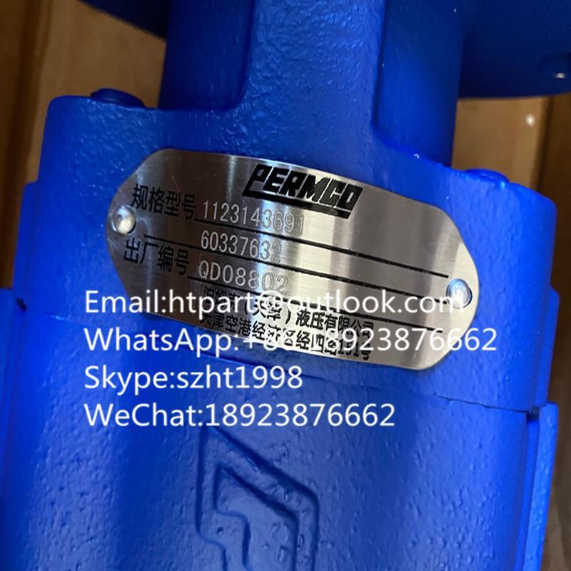 PERMCO泊姆克三聯泵1123143691吊車液壓泵鑽機泵 2