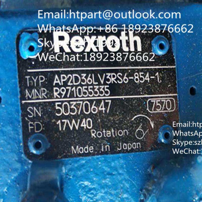 AP2D36  3RS6-854-1力士乐液压泵用于洋马挖掘机 1