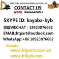 K3VL28/C-1AR5S-PO-T213 KAWASAKI Hydraulic Pump Constant pressure pump 2