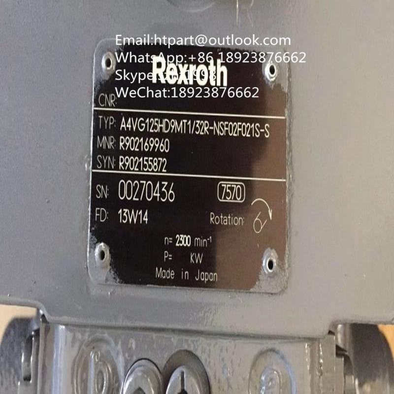 卡特力士乐柱塞泵AA4VG125HDD1/32R-NXF60F001D-S 3
