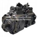 沃尔沃350D液压泵川崎K5V160DT电控款液压泵总成