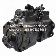 沃爾沃350D液壓泵川崎K5V160DT電控款液壓泵總成